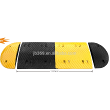 good quality rubber speed hump used on road with size 1000*450*50mm