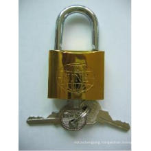 New Golden Plated Iron Padlock