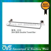 porte-serviettes double porte-serviettes en acier inoxydable massif H10