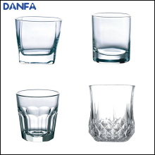 10oz / 300ml runde obere quadratische Basis Whisky Glas