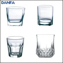 10 унций / 300 мл круглая верхняя база виски стекла