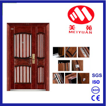 Hot Design Security Steel Exterior Door Double Leaf Door