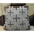 Bordados decorativos almofada de veludo de moda travesseiro (edm0282)