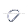 Fashion High Quality Metal Chrome Plated D Ring