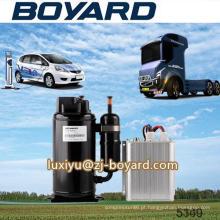 Boyard r134a bldc 12V btu3000 elétrico dc rolo compressor para o sistema elétrico do veículo