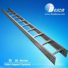 Fabricante de la bandeja de la escalera del cable de aluminio Aluminio con la cubierta (UL, cUL, NEMA, SGS, IEC, CE, ISO probado)
