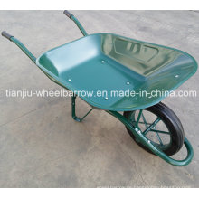 Frankreich Modell Wb6400 Wheel Barrow mit Solid Wheel