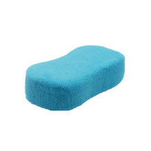 Ultra Soft Blue Non-Abrasive Microfiber Car Wash Sponge
