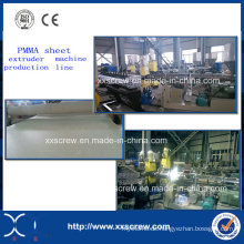 PMMA Acryl Solid Sheet Extruder Maschine