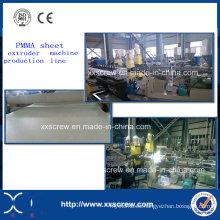 Maquinaria de extrusión de lámina de acrílico ABS / PMMA