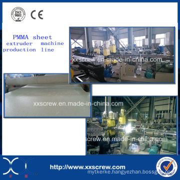 PMMA Acrylic Solid Sheet Extruder Machine