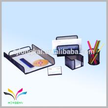 De alta qualidade, metal preto, balcão, papelaria, mensagem, espiga, suporte