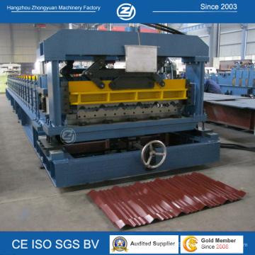 Machine à fabriquer des carreaux en aluminium