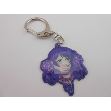 Cosplay Image Offset-Printing Keychain avec logo Epoxy-Dripping (GZHY-KC-003)