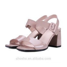 hot sale chunky heel wedding shoes high heel shoes with strang heel shoes