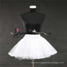 2016 Art- und Weiseheißer Verkauf preiswertes kurzes Kleid mit weißem petticoatt in den Aktien
