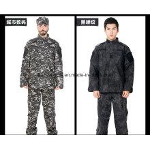 2016 más reciente China al por mayor Camo militar táctico ejército uniforme de combate
