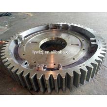 Engrenagem de roda de aço de alta qualidade fabricada na China