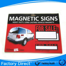 Promotional Gift Flexible car magnet magnetic signs