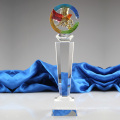 Newest Popular New Design Crystal Fish Trophy