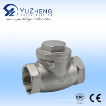 H12 Stainless Steel Thread Swing Check Valve