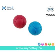 Игрушка для футбола из натурального каучука, скрипучая игрушка для собак