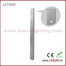 Silber / Schwarz 4W LED Vitrine Licht für Schmuck Schrank LC7324t