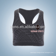 Competitive price custom wholesale running bra for young ladies