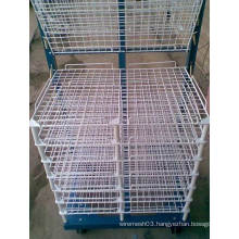 Screen printing plate drying rack