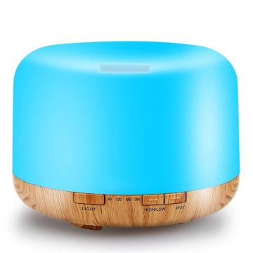 500ml Wholesale Wood Grain Ultrasonic Scented Oil Diffuser