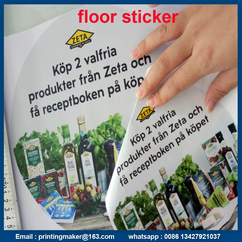 Floor Sticker Signs