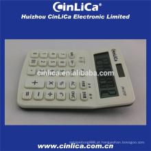 Calculadora de LCD grande display branco com função de imposto
