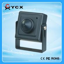 Super Micro 700TVL 1/3 Sony CCD HD Pinhole Cámara LED IR Lámparas de metal cctv mini CE FCC ROHS