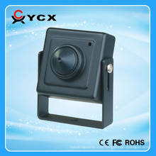 Super Micro 700TVL 1/3 Sony CCD HD Pinhole Camera LED IR Lâmpadas Metal cctv mini CE FCC ROHS