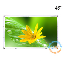 "No bezel open frame TFT 46"" LCD monitor with high brightness"
