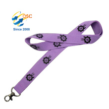 Custom Cheap Promotional Printing Polyester Lanyard With Metal Hook