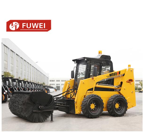 High Quality 65hp Small Skid Steer Loader