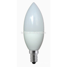 5W dimmable LED bulb C37 candle E14/E27 base led light bulbs