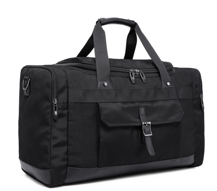 Waterproof Oxford Travel Bag Black