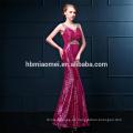 Pailletten sexy Meerjungfrau ärmelloses Abendkleid Frauen