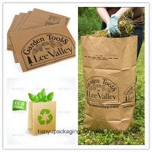 Бумажный мешок для крафт-бумаги Eco-Friendly Leaf