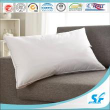 Мягкая подушка из микрофибры / полиэстера лучше, чем пух для гостиницы / домашнего использования