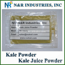 Powder Form Kale Juice Powder 80mesh and Supply other vegetable Juice Powders