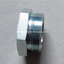 Threaded pipe Hex Head Plug Hydraulic Fittings
