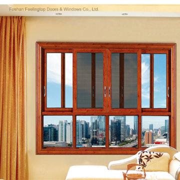 Fabricante de ventanas de aluminio comercial confiable (FT-W132)
