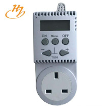 Electric Radiant 230V-15A Floor Heating Thermostat