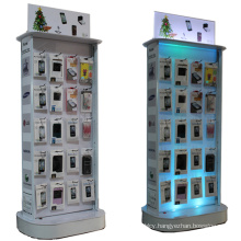 Cell Phone Accessories Display Racks, Acrylic Mobile Accessories Display Stand