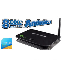 R9 Rk3368 Octa Core 8core Android ТВ поле с Android OS 5.1 HDMI 2.0 16 ГБ флэш-Ddriii 2GB Smart TV, Отт TV Box 4 k видео поддерживается интернет-телевидения телеприставки