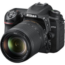 Nikon D7500 20.9MP DX-Format DSLR Camera - Black (Kit w/ 18-140mm VR Lens)