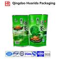 Sac en plastique adapté aux besoins du client d'emballage de thé avec l'impression colorée